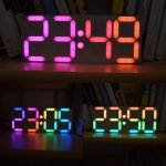 rainbow clock kit